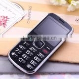 "cell phone touch 2.0 ""screen Jinpo MTK big battery big horn dual sim SOS dialingt mobile phone"