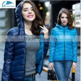 New 2016 Winter Two Side Women 90% White Duck Down Jacket Women's Hooded Light Down Jackets Warm Winter Coat Parkas                                                                         Quality Choice