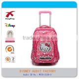 XF-LG0013 cute kids hello kitty girl school bag