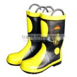 Comfortable Fire fighting Boots With excellent function/pierce resistance and flame-retardant,
