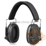 Tactical Ear Muff (Electronic Control) adopts ABS being able to transfer between turn-up and turn-down automatically