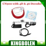 2014 New Auto Transponder Chip Key Copy Tool CN900 Auto Key Programmer CN900 4D Decoder with CN900 Decoder box