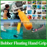 GP82 Floaty Bobber Floating Hand Grip with Strap and Screw for Go pro Accessories Hero3+/3/2/1 SJ4000