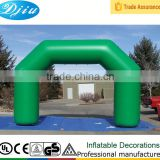 DJ-GM- 16 green wholesale wedding arch inflatable arch garden arch outdoor decoration