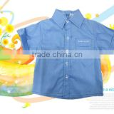 soft material short sleeves summer childrens shirts