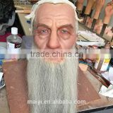 Silicone Sculpture of Movie Character Star Gandalf Wax Statue