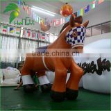 2016 Commercial High Quality PVC Inflatable Horse Toys , Giant Inflatable Horse With Customized For Adcvertising