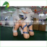 Giant Inflatable Wolf / Cartoon Wolf Balloon / Inflatable Arcanine Cartoon Toys With Factory Price