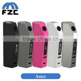 China Supplier First Batch Eleaf Aster 75W TC Box Mod Temperature Control Fit Smok TFV8 Baby Tank and Limitless RDTA PLUS