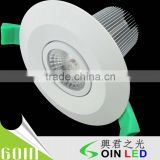 12w led downlight in factory price with SAA C-tick high lumen 30w led downlight for kitchen cob led ceiling downlight