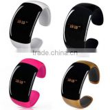 HOT selling!!! Smart bluetooth wrap bracelet watch, lover bluetooth watch hands-free calls, anti radiation