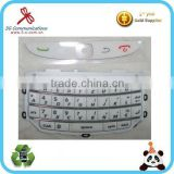 mobile phone color keypad for Blackberry Torch 9800 English keypad for blackberry bb 9800 9810 keypad frame