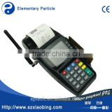 handheld POS terminal with CE IC Magentic RFID card 1D/2D barcode scanner GPRS GPS WiFi 3G CDMA and printer