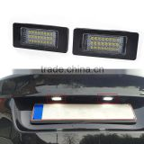 1 Pair 12V LED License Plate Lights Lamp SMD3528 6000K For BMW X6 E82 E88 E90 E92 E93 E39 E60 Sedan M5 E70 5 E71 E72