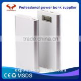 factory price LCD display large capacity high quality 20800mAh Power Bank free logo printing power bank mobile charger