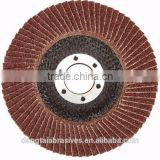 flap disc manufacturers fiber aluminium oxide flap disc for polishing and grinding metal deburr stianless steel