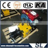 China Factory Gasoline Speedy Petrol 5 Tons Engine Powered Hoist Winch 5 Tons
