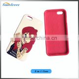 custom phone case for iphone 6,original factory machine tpu printed soft mobile phone cover for iphone