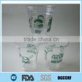 biodegradable PET plastic cup for hot and cold drink/ transparent plastic cup cola/ ice                                                                         Quality Choice