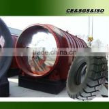 Automatic slag-out trap waste tyre recycling machine with CE, ISO and BV by Shangqiu Sihai