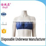 High Quality Woman Disposable New Model Bra For Spa