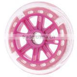 Wholesale blue rubber wheel 125mm parts for kids kick scooters