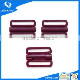 Purple bra plastic front clasps for bra accessory buckles