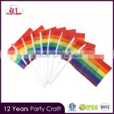 Gay Pride Festival Party Handheld Desktop Waving Flag Rainbow Flags