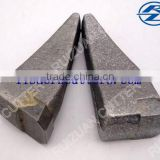 BFZ25L BFZ25R flat cutter teeth weld-on teeth for HDD reamer auger bits for piling machine foundation drilling picks