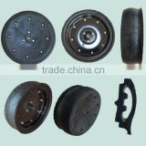 16X4.5 semi pneumatic rubber wheel for Great plains agricultural seed drill