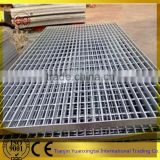 China heavy duty steel floor grating/China galvanized floor plate mesh steel grating/Galvanized steel grating