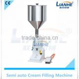 With Foot Pedal Cream Liquid Cosmetic Simple Olive Oil Filling Machine