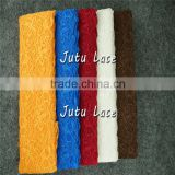 8cm elastic lace headband fabric / clothing material lace accessories / African Tulle Lace Fabric