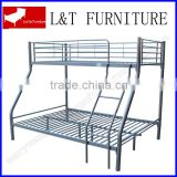 bunk bed with trundle/stainless steel double bunk bed