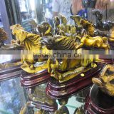 Decorative hand carved crystal quartz animals carving
