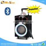 sound woofer party speaker with microphone manual portable mini speaker instructions L-212