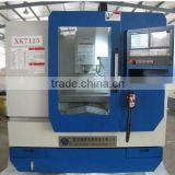 High quality and low price XK7125 benchtop cnc milling machine with siemens and fanuc system
