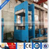 rubber solid tyres moulding press/forklift solid tire press/vulcanizing machine equipment