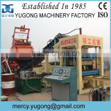 Yugong Factory Delivery concrete block making machine, hollow block machine with Extreme Durability