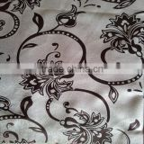 European-style and elegant double swag shower curtain with valance