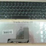 US laptop keyboard for Lenovo Z370 black (like G470 but only 2 screw holes on the bottom) keyboard