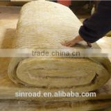Heat Insulation Sound Absorption Rockwool Blanket/ Roll / Felt / Tape 150kg/m3 with Wire Mesh