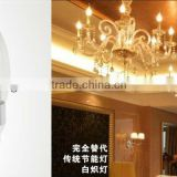 High Quality Favorites E27 COB led Candle Bulb with flame and sparkle lighting effect