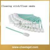 Low price printer clean swabs/cleaning stick for crystaljet/infiniti/zhongye/icontek/yifang/xenons
