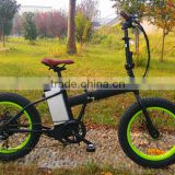 Israel folding electric fat bike with motor 500W