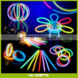 "100 Mixed Color Glow Stick Party Pack 8"" Glowsticks with Connectors to Make Bracelets, Glasses, Flowers and More"