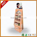 store promotion carton display rack for lollipop , display rack for lollipop , cardboard floor display stand
