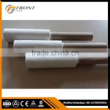 Multiple temperature thermocouple with ceramic fiber protection tube