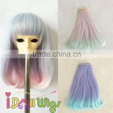New Items 15/25/35cm*100cm DIY Dolls Hair Weaving BJD SD Doll Kinky Curly Hair Extension