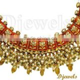 22K Kundan Necklaces, Jaipur Kundan Necklaces, Kundan Jewellery